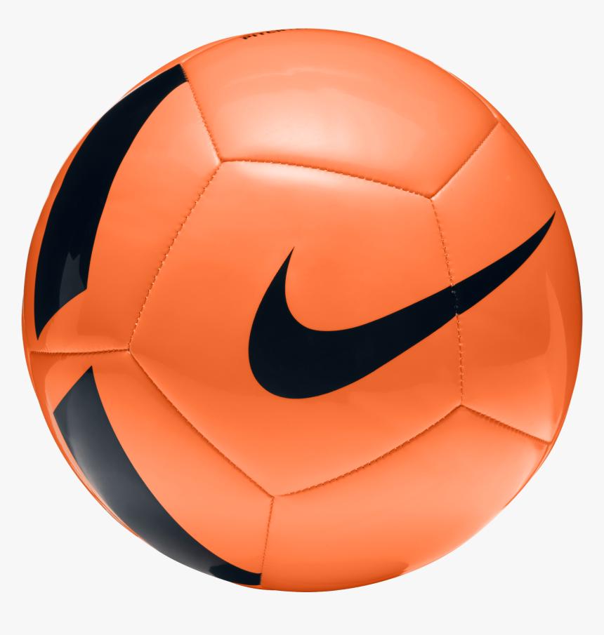 Transparent Football Game Clipart Nike Soccer Ball Orange Hd Png Download Kindpng