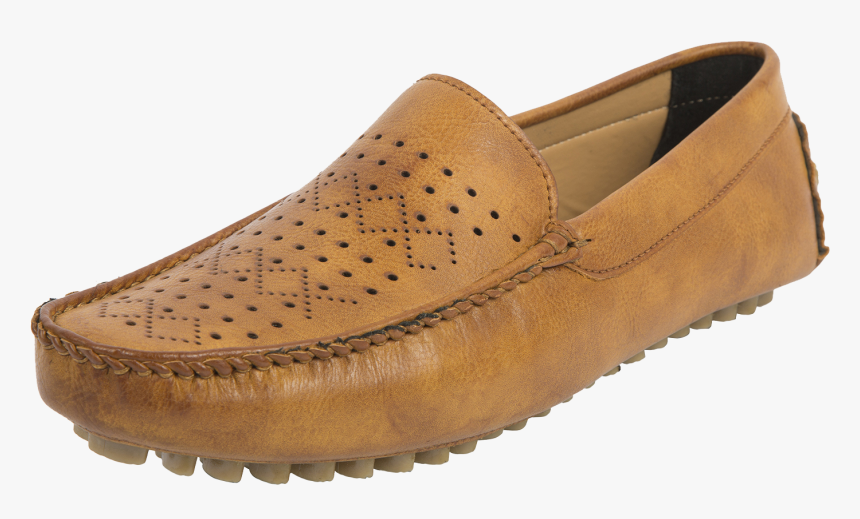 Leather Loafer Driving Shoe - Slip-on Shoe, HD Png Download, Free Download
