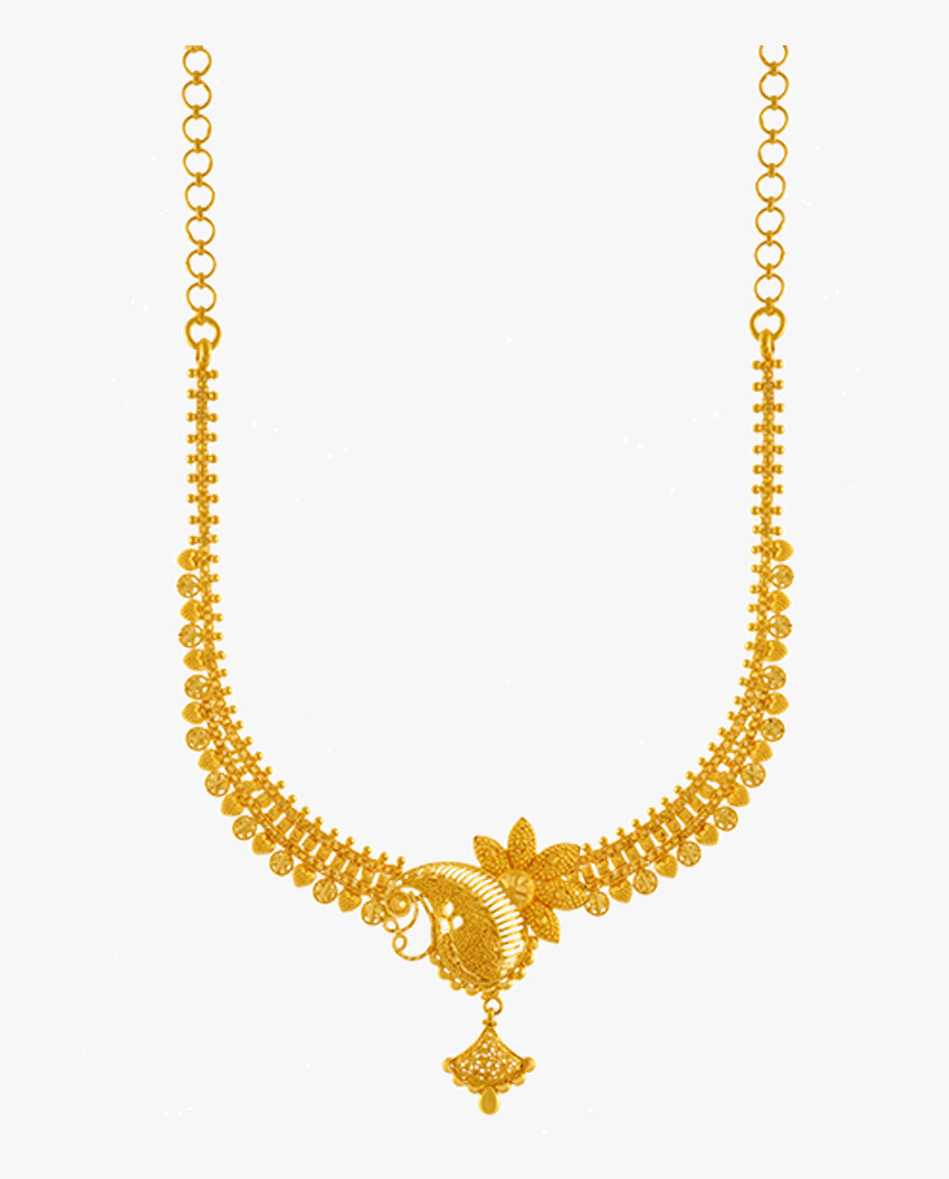 Png Jewellers Online - Gold Necklace Pc Chandra Jewellers, Transparent Png, Free Download