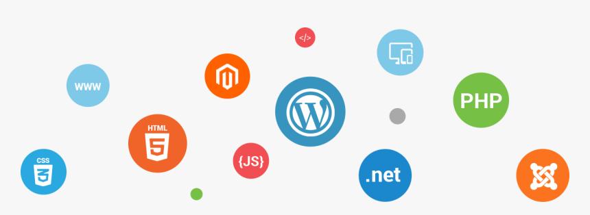 Web Design & Development - Transparent Web Technology Png, Png Download, Free Download