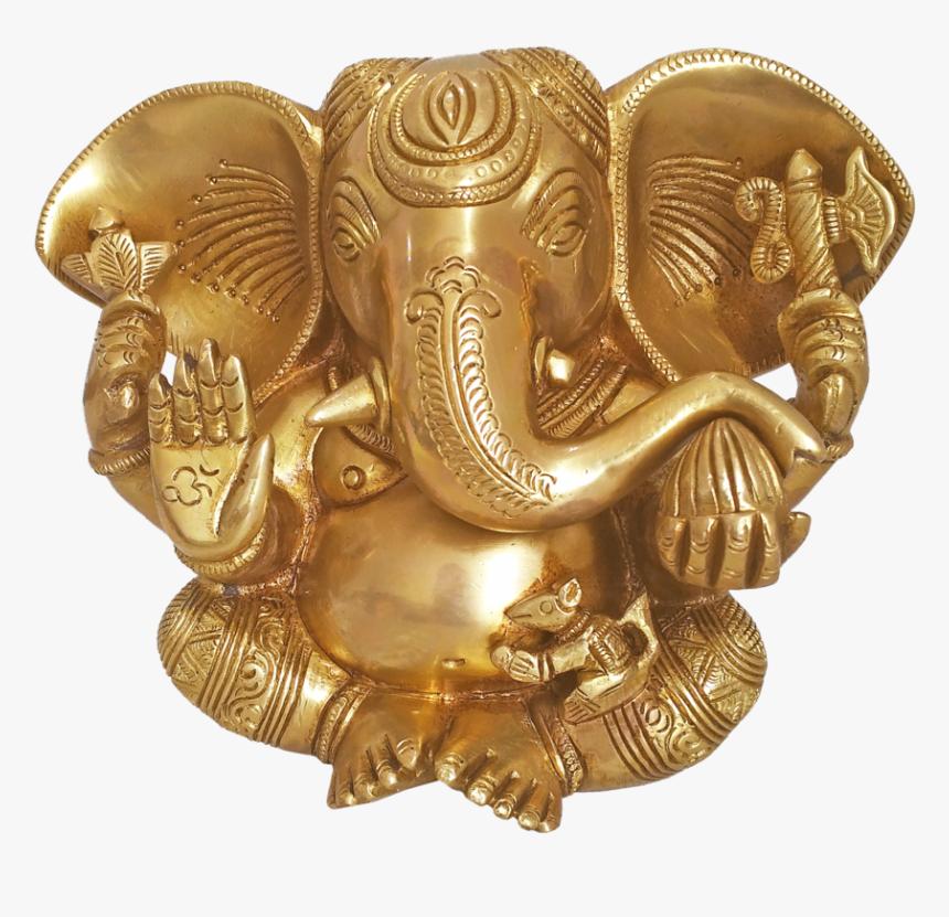 Holy Modern God Sri Mahaganapathy Brass Idol, 3 X 6 - Statue, HD Png Download, Free Download