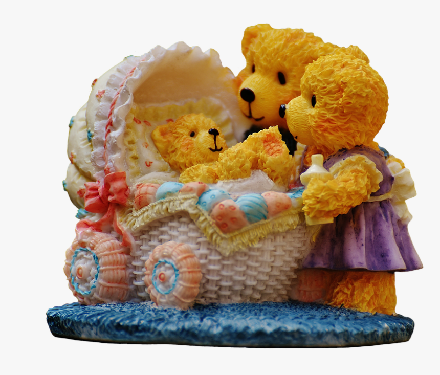 Transparent Mama And Baby Bear Clipart - Whatsapp Profile Teddy Bear Dp, HD Png Download, Free Download