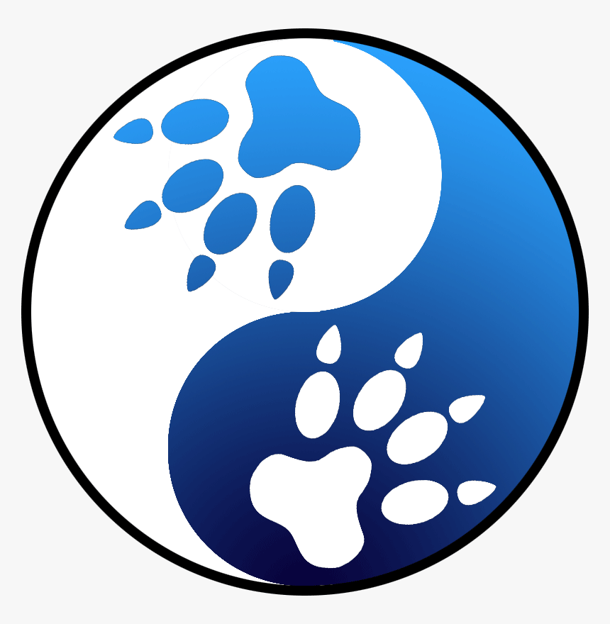 White Wolf Clipart Stylized - White Wolf With Blue Wolf, HD Png Download, Free Download