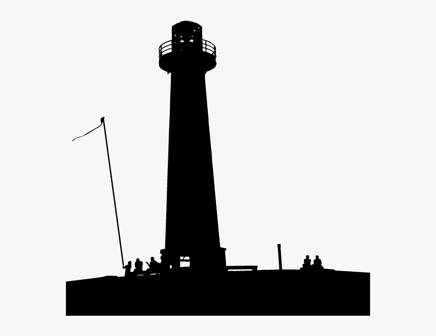 Silhouette Discover Your Destiny With The Monk Who - Lighthouse Vector Silhouette Piers, HD Png Download, Free Download