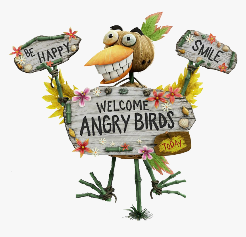 Angry Birds Wiki - Angry Birds Bird Island, HD Png Download, Free Download