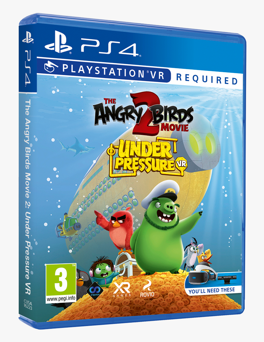 Angry Birds Movie 2 Vr Under Pressure, HD Png Download, Free Download