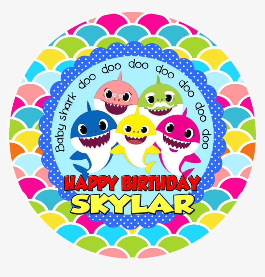 Baby Shark Happy Birthday, HD Png Download, Free Download