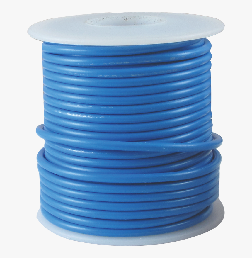 Pictured - Blue - Electric Wire Roll Png, Transparent Png, Free Download