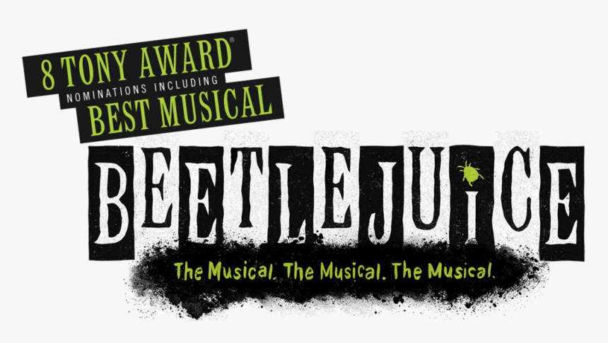 Bj Title Beetlejuice The Musical Title Hd Png Download Kindpng