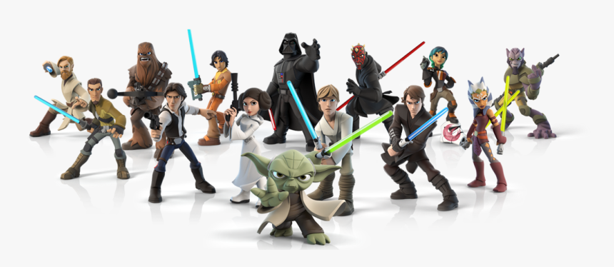 Transparent Star Wars Characters Clipart - Star Wars Characters Png, Png Download, Free Download