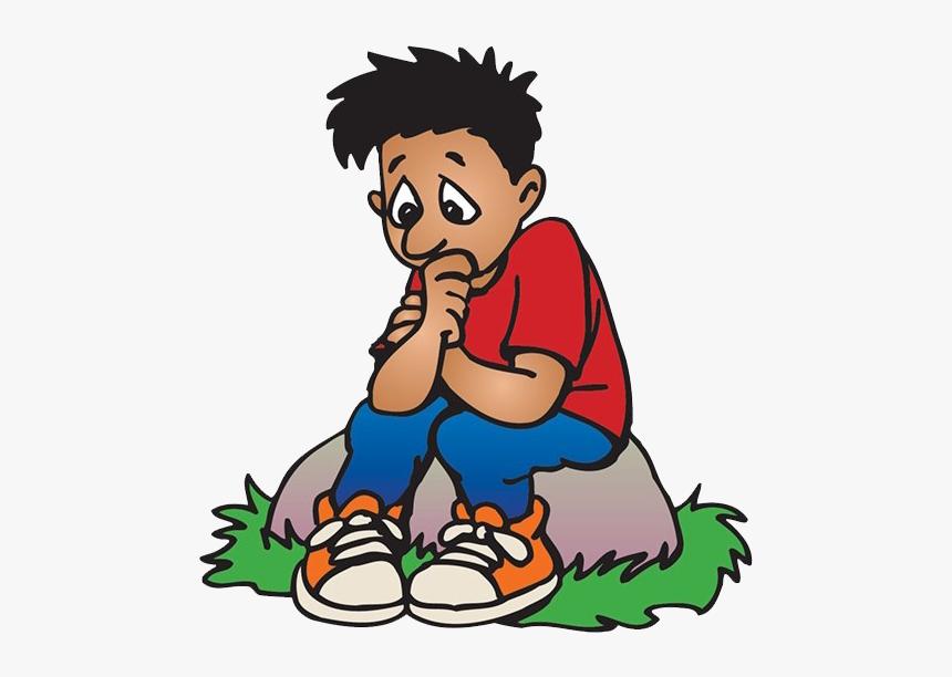 Sad Boy Png - Sad Boy Cartoon Png, Transparent Png, Free Download
