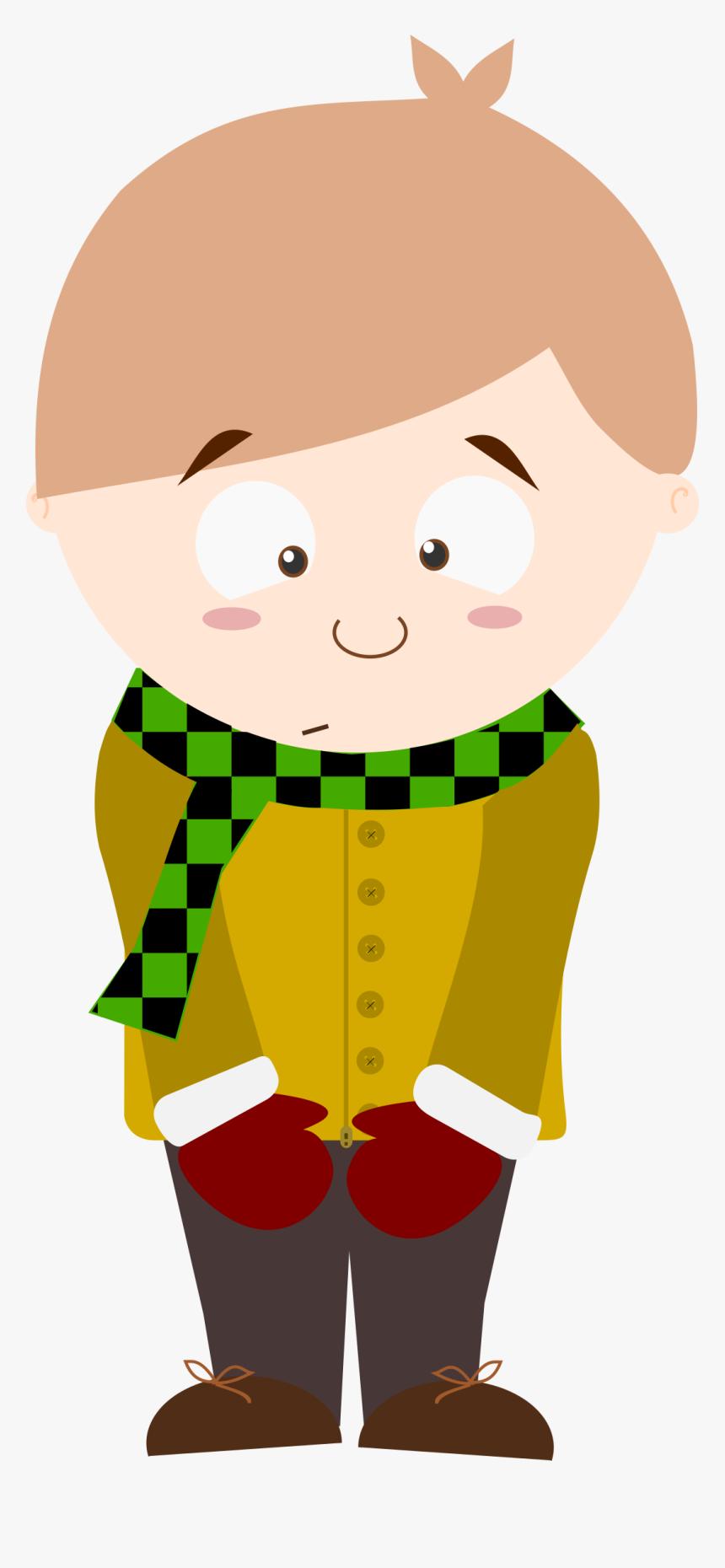 Cartoon Shy Kid Big - Shy Clip Art, HD Png Download, Free Download