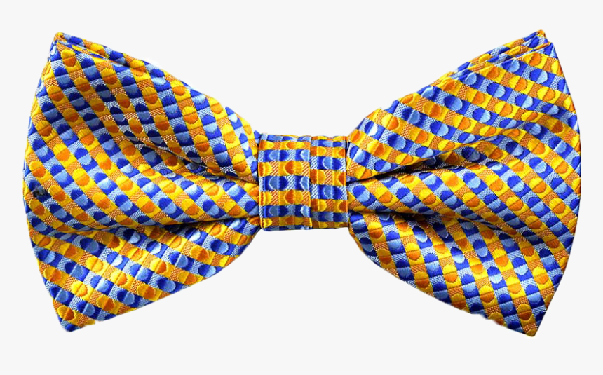Printed Billy Bow Tie In Champagne Yellow - Knot, HD Png Download, Free Download