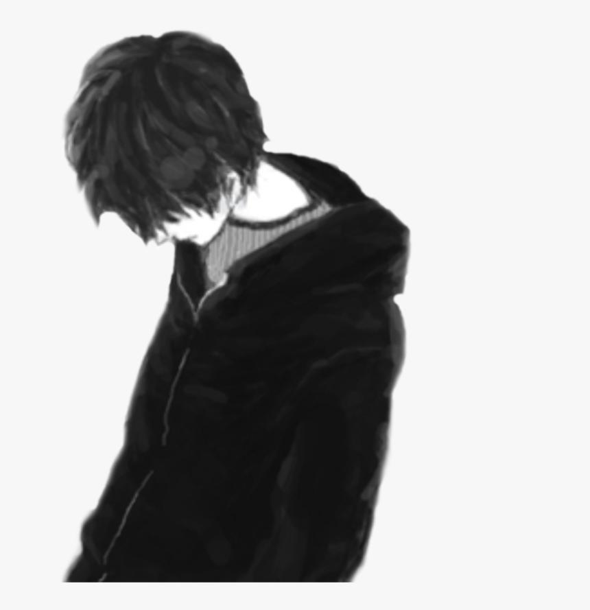 Hair - Sad Boy Alone Png, Transparent Png, Free Download