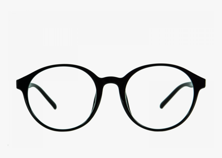 Goggles Transparent Sunglasses Round White Fancy - Round Glasses Frames Png, Png Download, Free Download