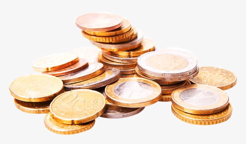 Coins Png Image - Euro Coins Png, Transparent Png, Free Download