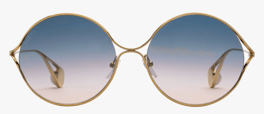Gucci Sunglasses Round Frame, HD Png Download, Free Download