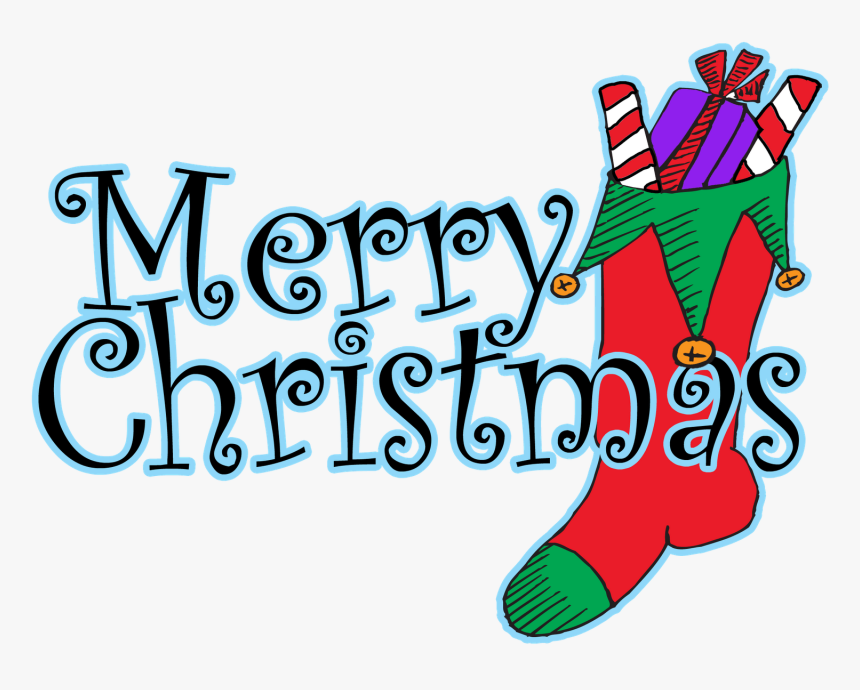 Happy Christmas Clip Art Merry Christmas In Words Hd Png