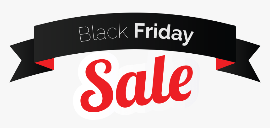 Black Friday Sale Banner Png Clipart Image - Black Friday Sale Banner, Transparent Png, Free Download