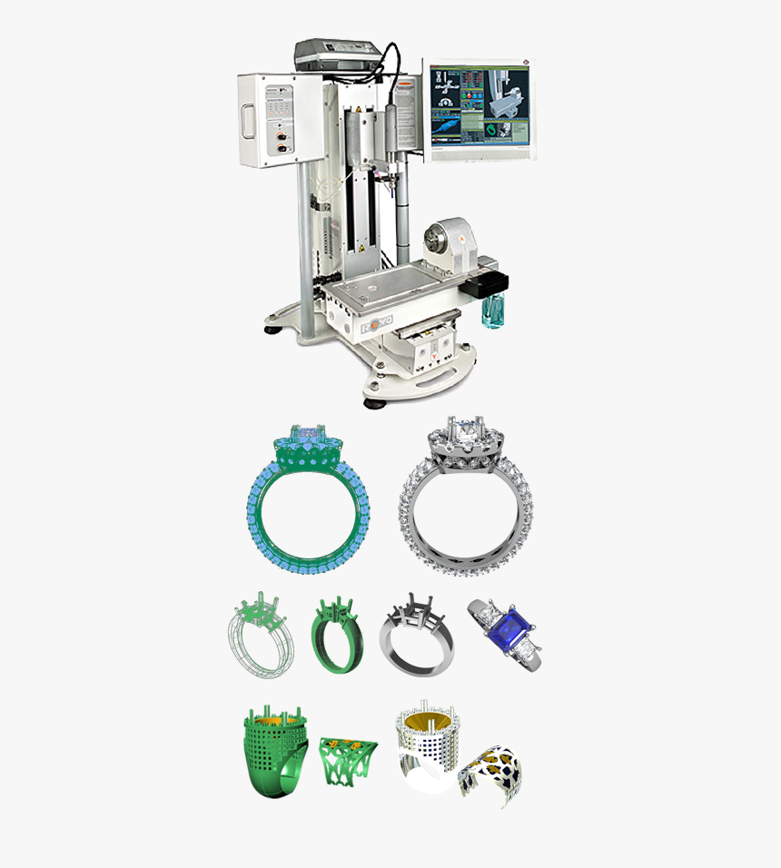 Jewelry Cad Wax Jewelry Design Src Https Machine Tool Hd Png Download Kindpng