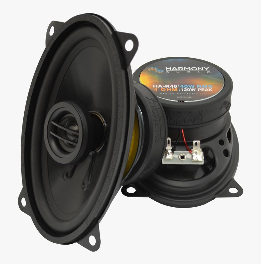 Harmony Audio Ha-r46 Car Stereo Rhythm Series 120 Watt - 1999 Chevy Silverado Speaker Size, HD Png Download, Free Download