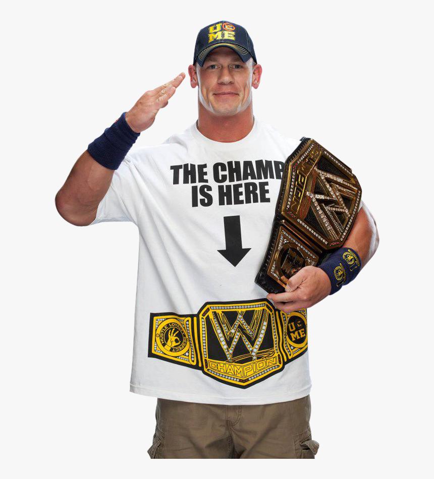 John Cena Png - John Cena Wwe Champion 2013, Transparent Png, Free Download