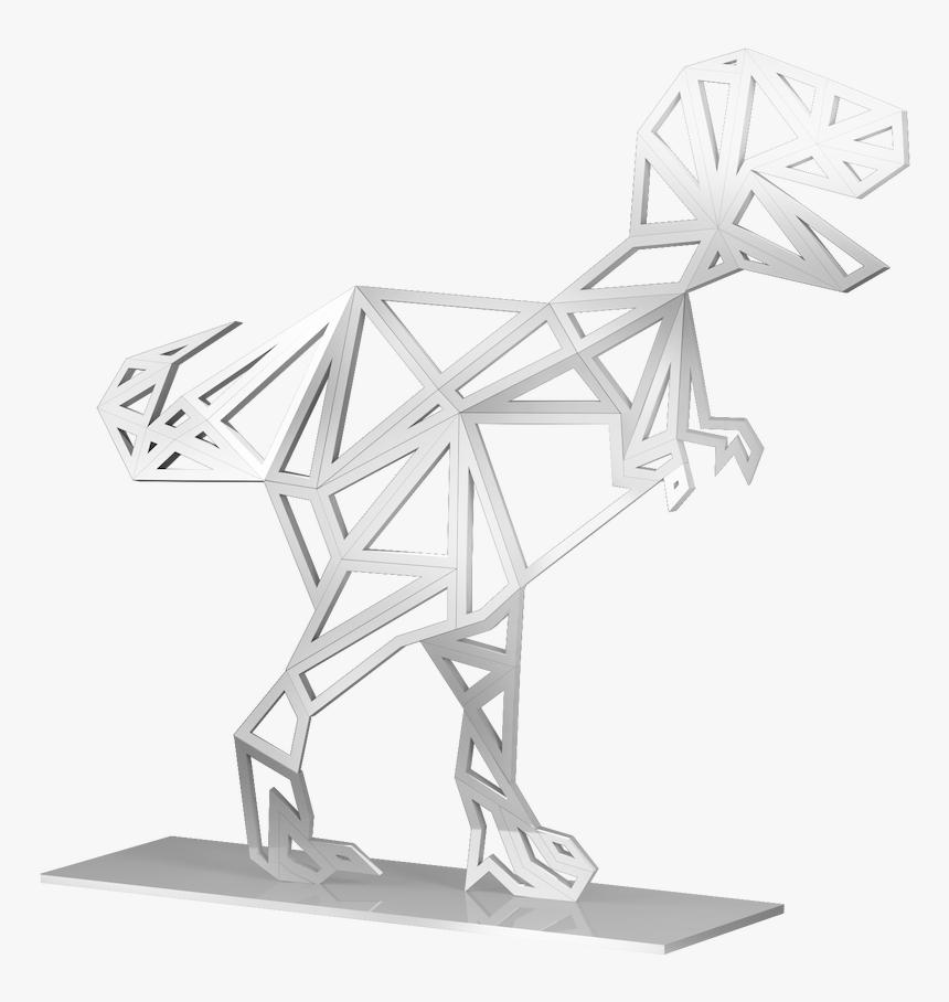 Origami T-Rex - Video and Diagrams - Jo Nakashima | 908x860