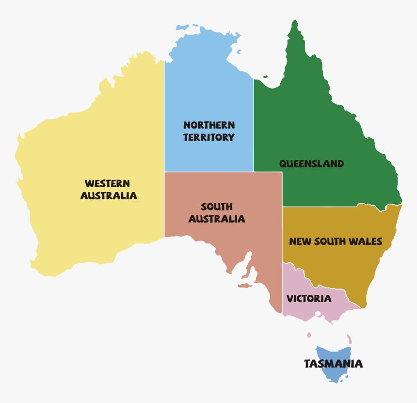 Refugees In Australia Map, HD Png Download - kindpng
