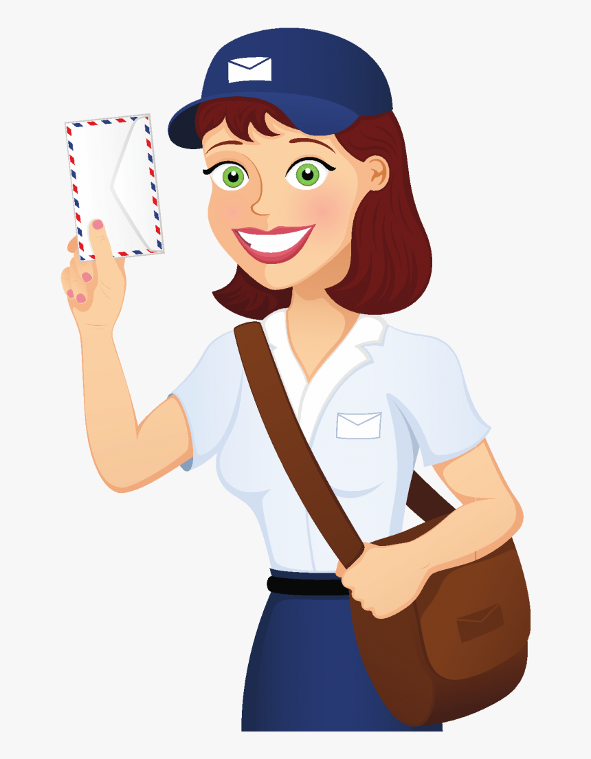 Postal Workers Cartoon Hd Png Download Kindpng