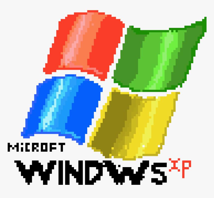 Windows Xp Png - Windows Logo Pixel Art, Transparent Png, Free Download