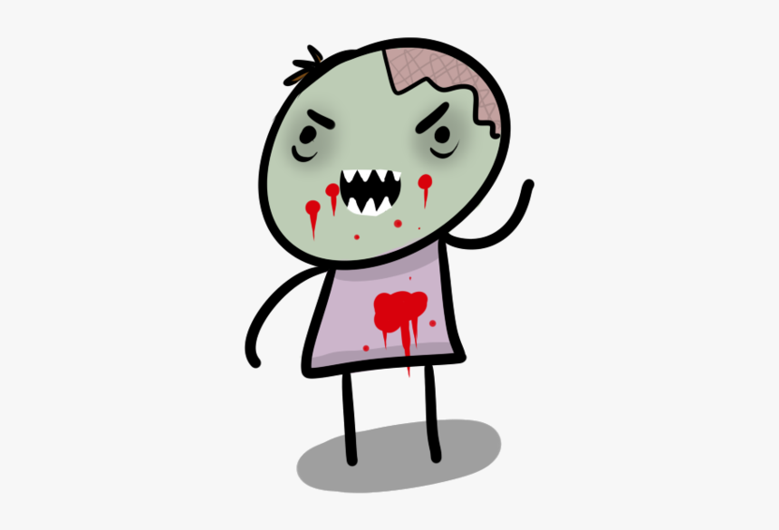 Cute Zombie, HD Png Download, Free Download