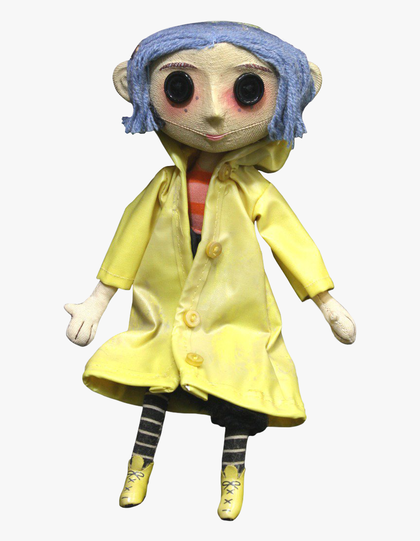 Coraline Doll 10 Prop Replica Coraline Doll Hd Png Download Kindpng