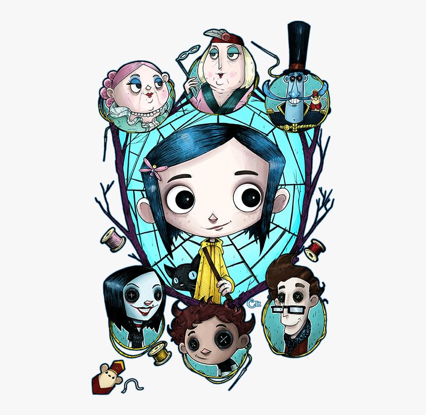 Imagenes De Coraline Animadas Hd Png Download Kindpng