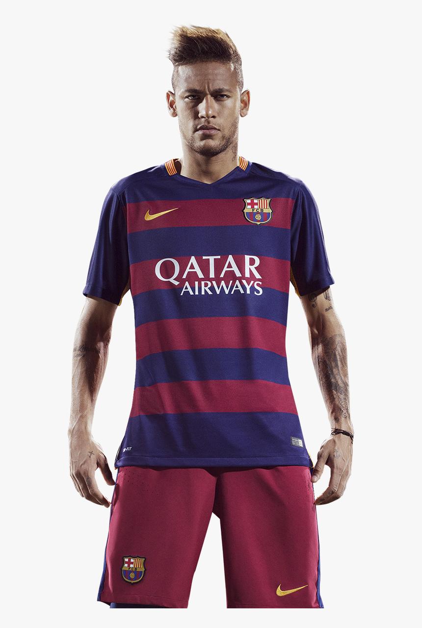 Neymar Render Barcelona Png - Neymar Barca 2014 15, Transparent Png, Free Download