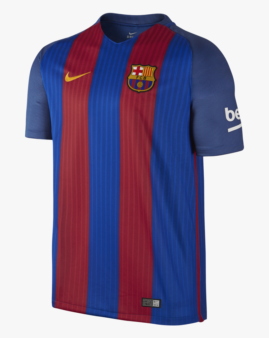 "Nike Men""s Fc Barcelona Stadium Top - Dresy Fc Barcelona 2016 17, HD Png Download, Free Download"