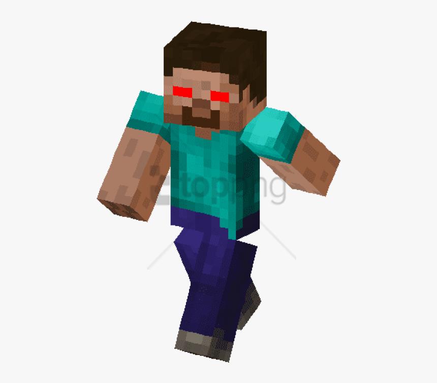 Free Png Minecraft Funny Steve Skin Png Image With - Minecraft Fallen Kingdom Herobrine, Transparent Png, Free Download