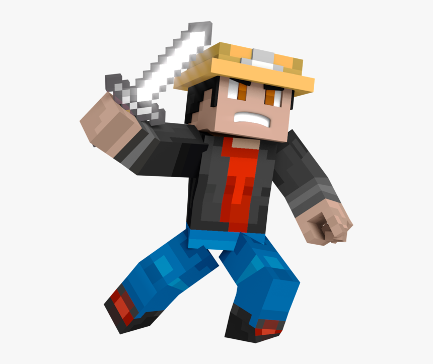 Minecraft Steve Render By Cornerscout Clipart Free - Minecraft Skin Animation Png, Transparent Png, Free Download