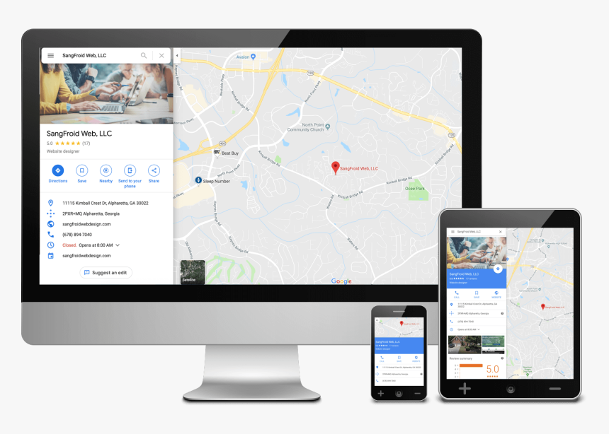 Local Seo Google My Business Consultants - Web Design, HD Png Download, Free Download