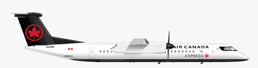 Air Canada Dh8, HD Png Download, Free Download