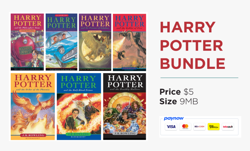 harry potter books english free download