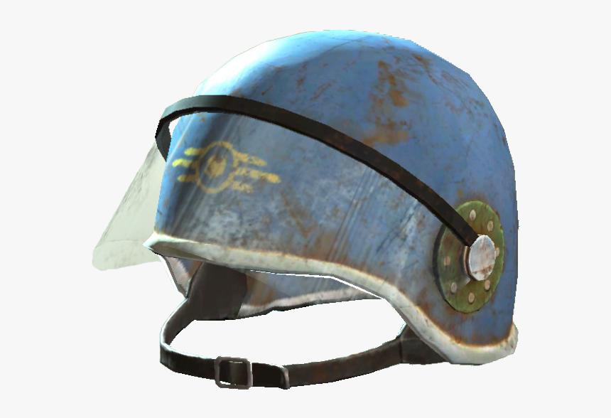 Fo4 Vault-tec Security Helmet - Fallout Vault Security Helmet, HD Png Download, Free Download