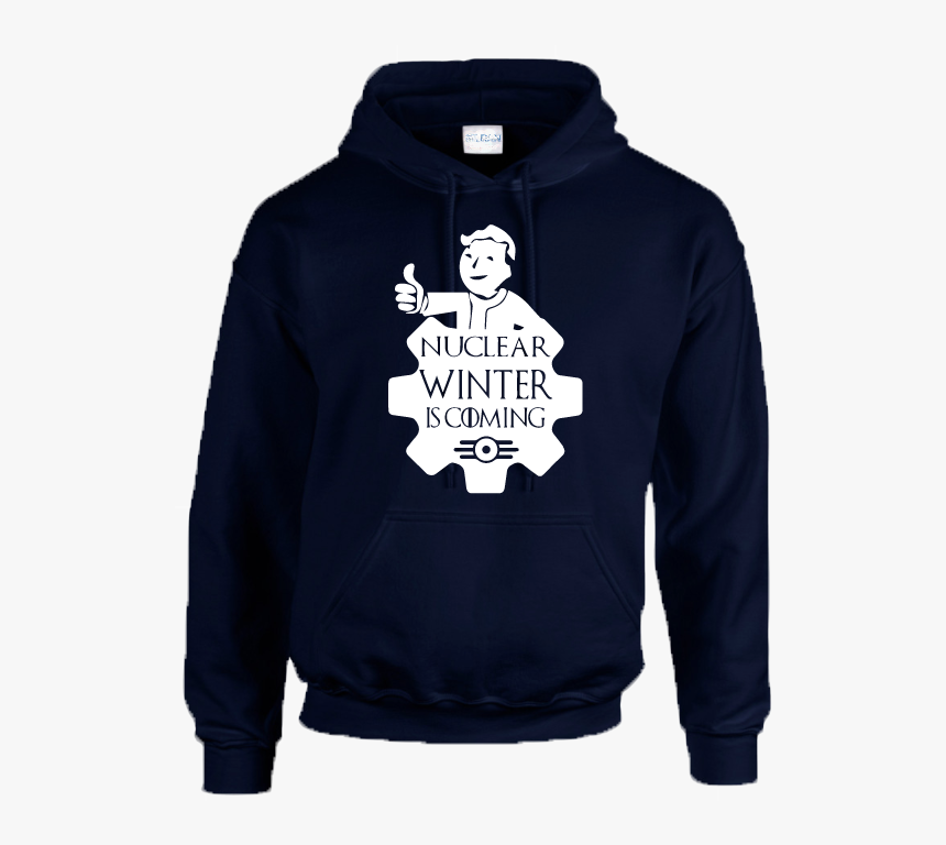 Nuclear Winter Hoodie Inspired By Fallout Vault Tec - Hoodie, HD Png Download, Free Download