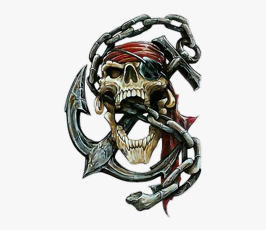 Skull Caveira Cranio Pirate Pirata Cartoon Desenho Pirates