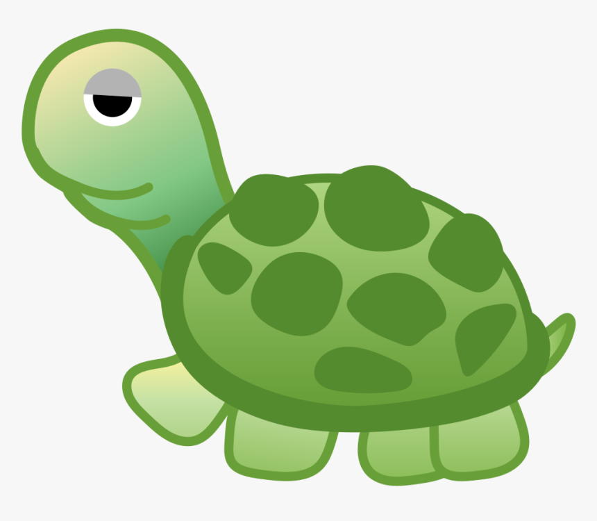 Transparent Turtle In Shell Clipart New Android Emojis Turtle Hd Png Download Kindpng
