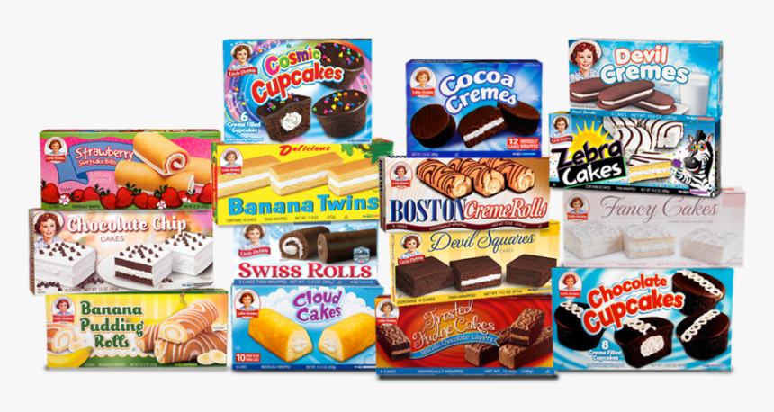Little Debbie Logo Png - Little Debbie Hostess Snacks, Transparent Png, Free Download