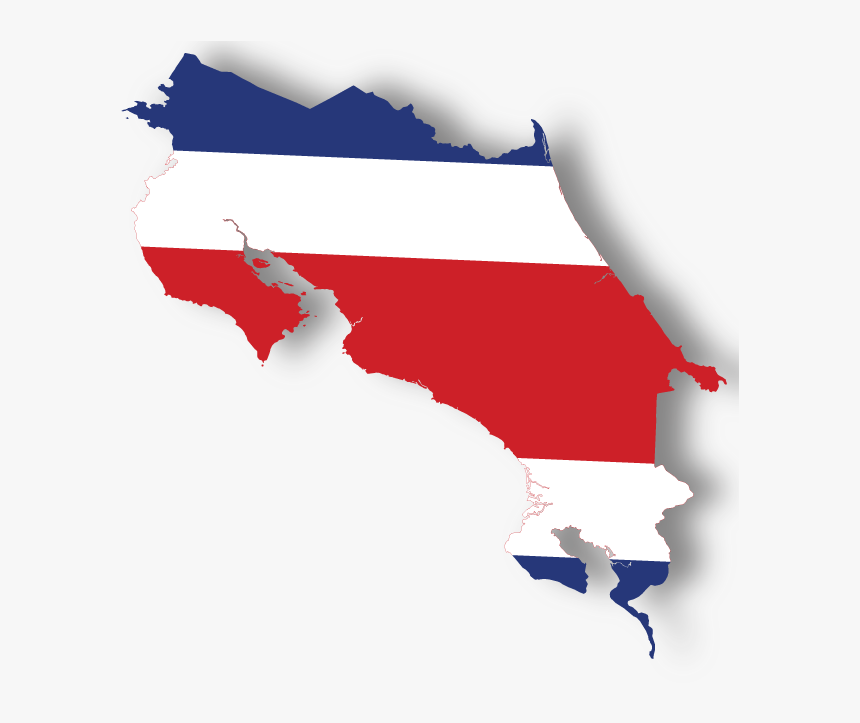 Costa Rica Map Small, HD Png Download, Free Download