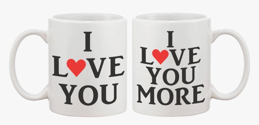 I Love You Couple Matching Coffee Mug - Valentines Coffee Mug Png, Transparent Png, Free Download