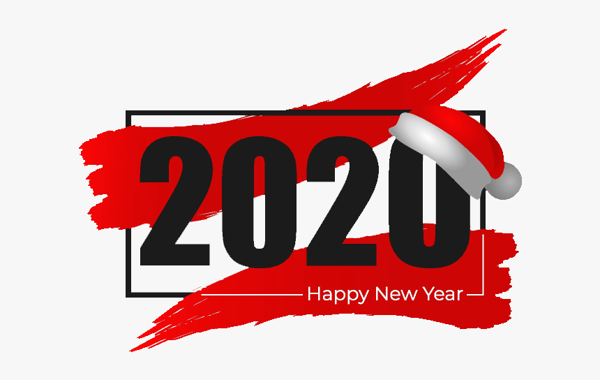 Happy New Year 2020 Image For Whatsapp - Graphic Design, HD Png Download, Free Download