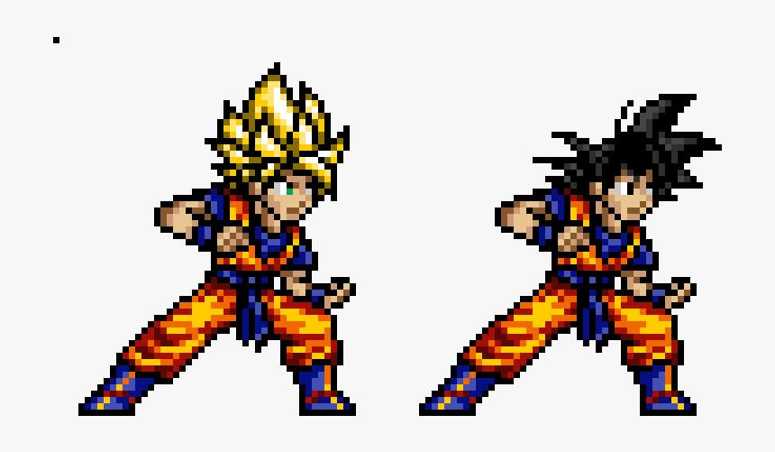 Dragon Ball Pixel Art Hd Png Download Kindpng