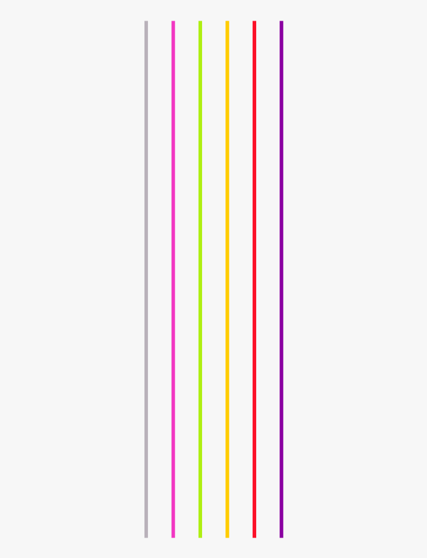 #ftestickers #colorful #rainbow #stripes #lines #thin - Colorfulness, HD Png Download, Free Download